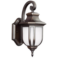 Childress 1 Light 13 inch Antique Bronze Outdoor Wall Lantern in Standard