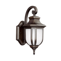 Childress 1 Light 13 inch Antique Bronze Outdoor Wall Lantern