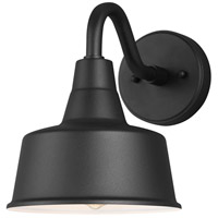 Sea Gull 8537401EN3-12 Barn Light 1 Light 10 inch Black Outdoor Wall Lantern