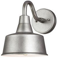 Sea Gull 8537401EN3-57 Barn Light 1 Light 10 inch Weathered Pewter Outdoor Wall Lantern Small