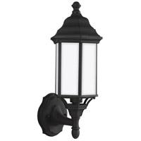 Sea Gull 8538751-12 Sevier 1 Light 16 inch Black Outdoor Wall Lantern