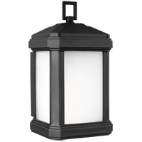 Sea Gull 8547401-12 Gaelan 1 Light 10 inch Black Outdoor Wall Lantern