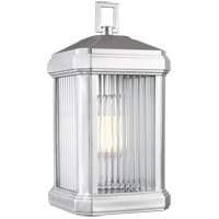 Sea Gull 8547431-753 Gaelan 1 Light 10 inch Painted Brushed Nickel Outdoor Wall Lantern