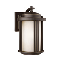 Sea Gull 8547901EN3-71 Crowell 1 Light 10 inch Antique Bronze Outdoor Wall Lantern