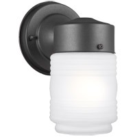 Sea Gull 8550001-12 Signature 1 Light 8 inch Black Outdoor Wall Lantern