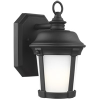 Sea Gull 8550701-12 Calder 1 Light 10 inch Black Outdoor Wall Lantern