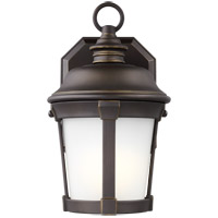 Sea Gull 8550701-71 Calder 1 Light 10 inch Antique Bronze Outdoor Wall Lantern