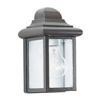 Sea Gull 8588-10 Mullberry Hill 1 Light 9 inch Bronze Outdoor Wall Lantern photo thumbnail
