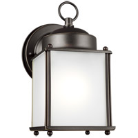 Sea Gull 8592001EN3-71 New Castle 1 Light 8 inch Antique Bronze Outdoor Wall Lantern