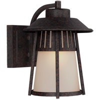 Sea Gull Hamilton Heights 1 Light Outdoor Wall Sconce in Oxford Bronze 8611701-746