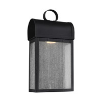 Conroe LED 14 inch Black Outdoor Wall Lantern