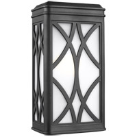 Sea Gull 8619601EN3-12 Melito 1 Light 13 inch Black Outdoor Wall Lantern