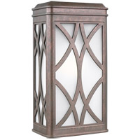Sea Gull 8619601EN3-44 Melito 1 Light 13 inch Weathered Copper Outdoor Wall Lantern