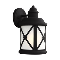 Lakeview 1 Light 12 inch Black Outdoor Wall Lantern