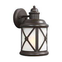 Lakeview 1 Light 12 inch Antique Bronze Outdoor Wall Lantern