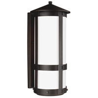 Groveton 1 Light 21 inch Antique Bronze Outdoor Wall Lantern in Standard