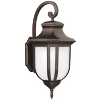 Childress 1 Light 15 inch Antique Bronze Outdoor Wall Lantern in Standard