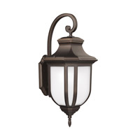 Childress 1 Light 15 inch Antique Bronze Outdoor Wall Lantern