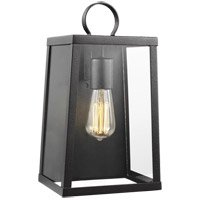 Sea Gull 8637101-839 Marinus 1 Light 14 inch Blacksmith Outdoor Wall Lantern