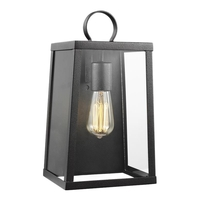Sea Gull 8637101EN7-839 Marinus 1 Light 14 inch Blacksmith Outdoor Wall Lantern