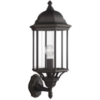 Sea Gull 8638701-71 Sevier 1 Light 22 inch Antique Bronze Outdoor Wall Lantern