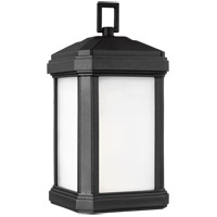Sea Gull 8647401-12 Gaelan 1 Light 14 inch Black Outdoor Wall Lantern