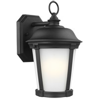 Sea Gull 8650701-12 Calder 1 Light 12 inch Black Outdoor Wall Lantern