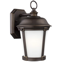 Sea Gull 8650701EN3-71 Calder 1 Light 12 inch Antique Bronze Outdoor Wall Lantern