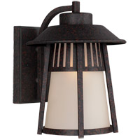 Sea Gull Hamilton Heights 1 Light Outdoor Wall Sconce in Oxford Bronze 8711701-746