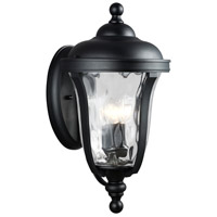 Sea Gull 8714203-12 Perrywood 3 Light 23 inch Black Outdoor Wall Lantern