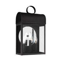 Conroe 3 Light 17 inch Black Outdoor Wall Lantern