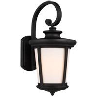 Sea Gull 8719301-12 Eddington 1 Light 20 inch Black Outdoor Wall Lantern