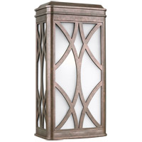 Sea Gull 8719601EN3-44 Melito 1 Light 18 inch Weathered Copper Outdoor Wall Lantern
