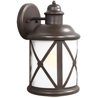 Sea Gull Lakeview 1 Light Outdoor Wall Sconce in Antique Bronze 8721401BLE-71