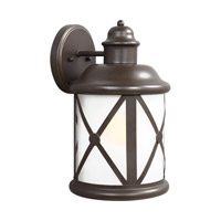 Sea Gull 8721451-71 Lakeview 1 Light 14 inch Antique Bronze Outdoor Wall Lantern photo thumbnail
