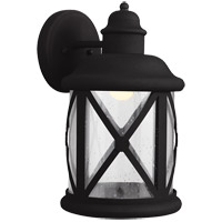 Sea Gull Lakeview Outdoor Wall Sconce in Black 8721492S-12