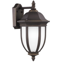 Sea Gull 8729301-71 Galvyn 1 Light 19 inch Antique Bronze Outdoor Wall Lantern