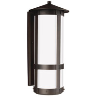 Groveton 2 Light 26 inch Antique Bronze Outdoor Wall Lantern in Standard