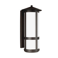 Groveton LED 26 inch Antique Bronze Outdoor Wall Lantern in Darksky Compliant