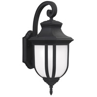 Childress 1 Light 21 inch Black Outdoor Wall Lantern in Standard