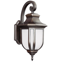 Childress 1 Light 21 inch Antique Bronze Outdoor Wall Lantern in Standard