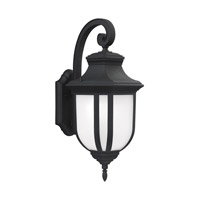 Childress 1 Light 21 inch Black Outdoor Wall Lantern in Fluorescent
