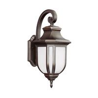 Sea Gull 8736301EN3-71 Childress 1 Light 21 inch Antique Bronze Outdoor Wall Lantern