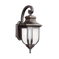 Childress LED 21 inch Antique Bronze Outdoor Wall Lantern