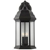 Sea Gull 8738703-71 Sevier 3 Light 23 inch Antique Bronze Outdoor Wall Lantern