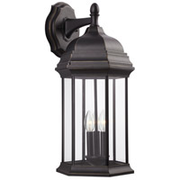 Sea Gull 8738703EN-71 Sevier 3 Light 23 inch Antique Bronze Outdoor Wall Lantern