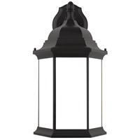 Sea Gull 8738751-12 Sevier 1 Light 23 inch Black Outdoor Wall Lantern