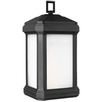 Sea Gull 8747401EN3-12 Gaelan 1 Light 17 inch Black Outdoor Wall Lantern