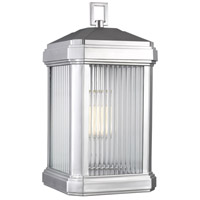 Sea Gull 8747431EN3-753 Gaelan 1 Light 17 inch Painted Brushed Nickel Outdoor Wall Lantern
