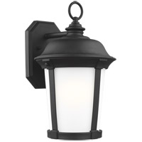Sea Gull 8750701-12 Calder 1 Light 17 inch Black Outdoor Wall Lantern